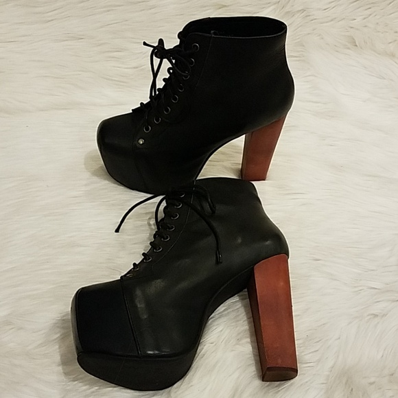 af6f87edd0b2 Jeffrey Campbell Shoes - Jeffrey Campbell Black Lita boots Sz 7M